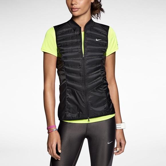 Nike aeroloft 800 women s running vest. M 5b8318a35a9d21e3c32b1a5d b7cbec526
